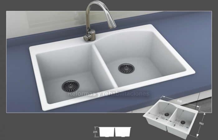 Fregaderos a medida lavabos a medida densificados sl - Lavabos a medida ...