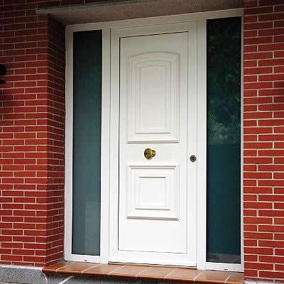 Puertas de calle aluminio almerilux ventanas y puertas pvc for Casas modernas granada