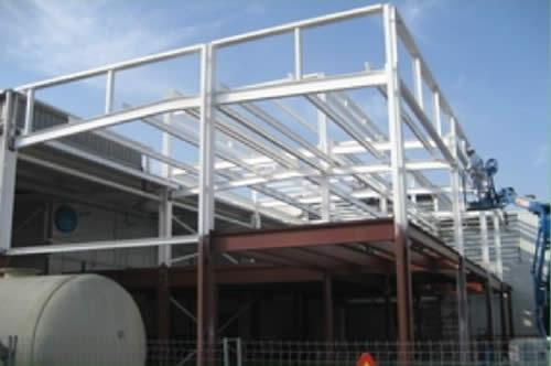 Estructuras met licas naves estructuras met licas en for Empresas de construccion en barcelona