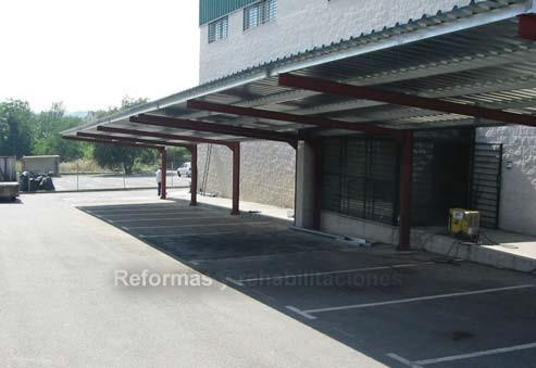 Pin estructuras y pers de mexicali producto polin on pinterest for Garajes metalicos en bolivia