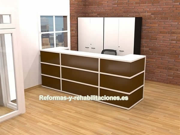 Mobiliario de recepci n ofiprix muebles de oficinas for Muebles oficina barcelona outlet
