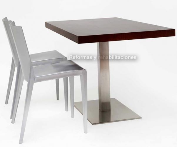 Mesas de hosteler a mesas y sillas de hosteler a cromobel - Sillas hosteleria barcelona ...