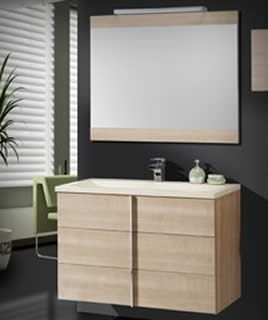 Armarios y espejos para ba os mobiliario de ba o torvisco for Mobiliario para banos