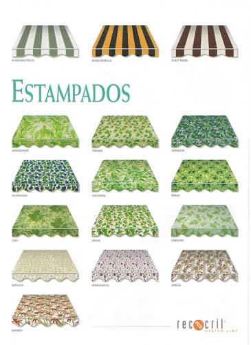 Toldos retractables lonas y tejidos recasens for Material para toldos correderos