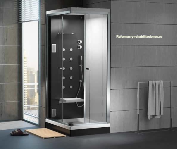 Cabinas de hidromasaje accesorios y sanitarios gala - Cabinas de duchas de bano ...