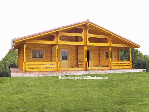 Construcci n refugios rural construcci n casas madera maderhouse sl - Casa rural madera y sal ...