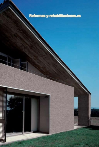 Revestimientos fachadas vives azulejos y gres for Fachadas con azulejo