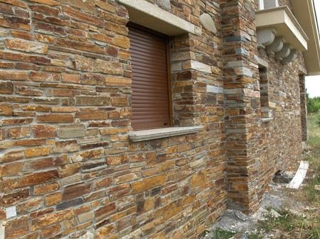 Piedras decoraci n fachadas for Imitacion piedra para fachadas