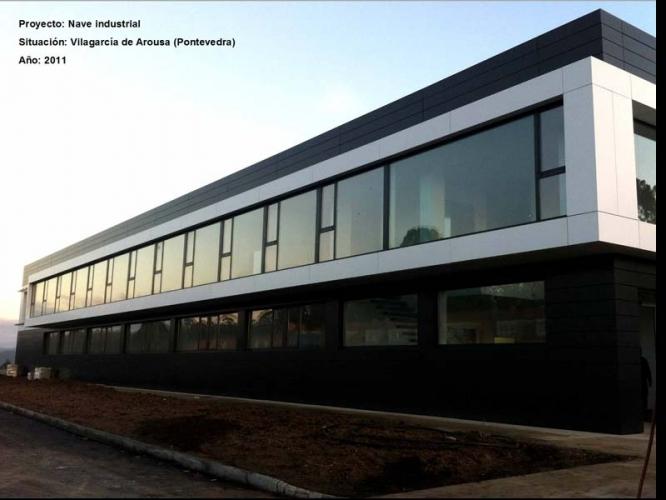 Fachada nave industrial soluciones en construcci n bosquexo - Empresas de fachadas ...
