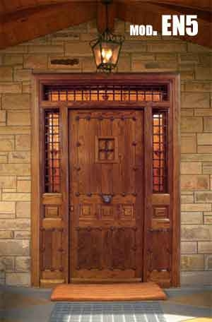 Puertas r sticas puertas de interior y exterior cano - Puertas rusticas de exterior ...