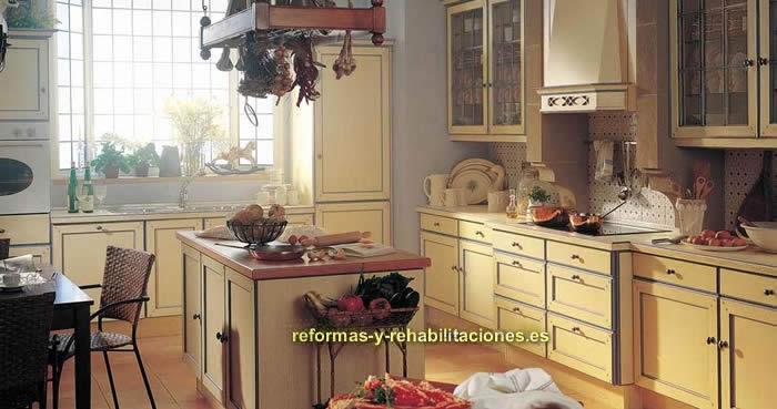 Cocinas mediterr neas cocinas de dise o xey for Muebles de cocina xey
