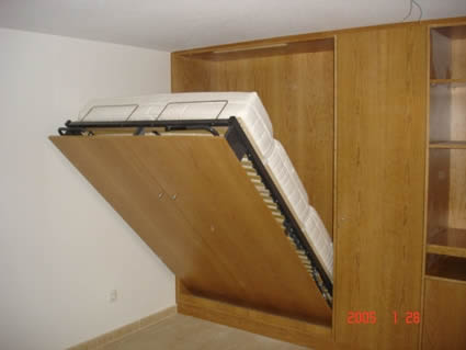 Cama empotrada carpinter a en madrid alpis - Cama empotrada en armario ...