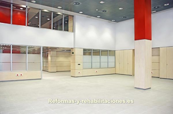 Separadores de espacios mamparas de oficina y tabiques for Separadores de oficina