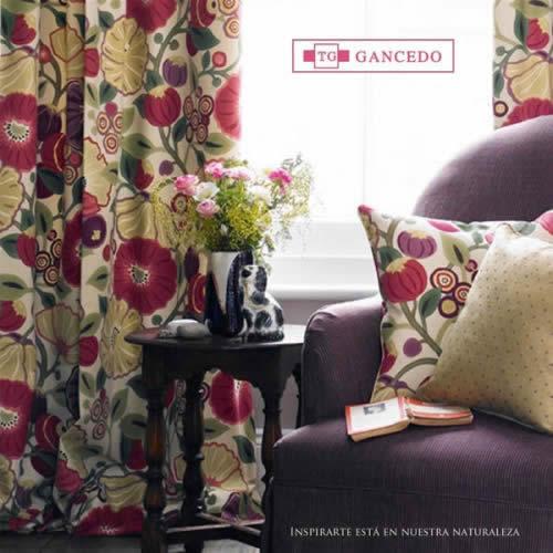 Gancedo cortinas de calidad tapicerias gancedo - Gancedo barcelona ...