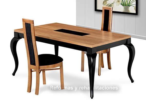 Mesas Y Sillas Salón Comedor - ALMOSA Diseño y Calidad