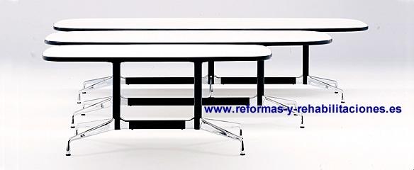 Mesas oficinas muebles y sillones de oficinas vitra for Fabricantes de muebles de oficina madrid