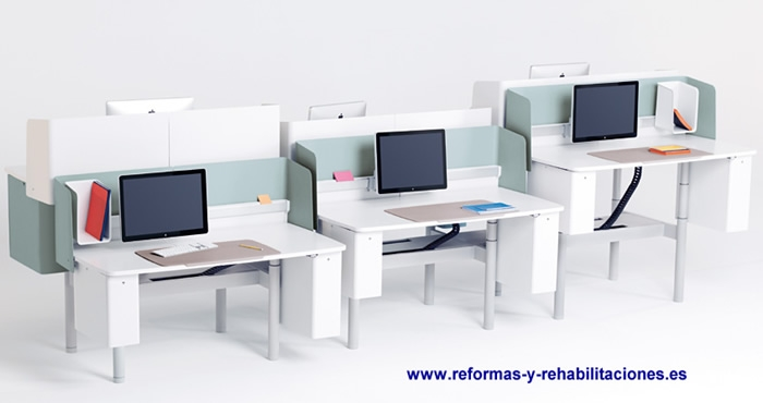 Mesas ordenador muebles y sillones de oficinas vitra for Muebles y sillones