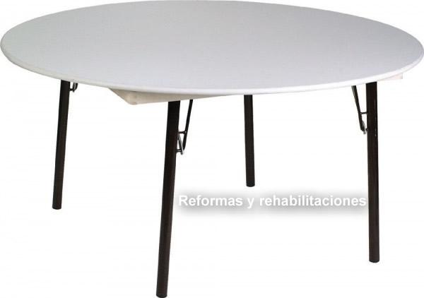Mesas redondas de terraza sillas y mesas pegables aranaz s l - Mesas y sillas para terraza ...