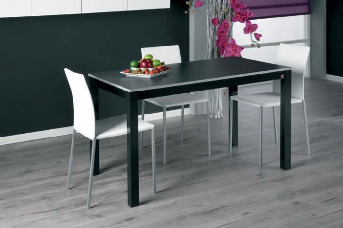 Mesas modernas de cocina discalsa mobiliario for Sillas de cocina modernas