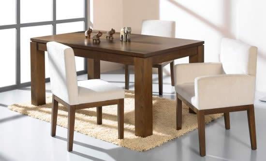 Mesas Para Comedores  Mobiliario hogar Arte Nogal