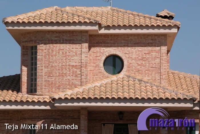 Teja alameda tejas y ladrillos mazarr n - Ceramicas mazarron ...