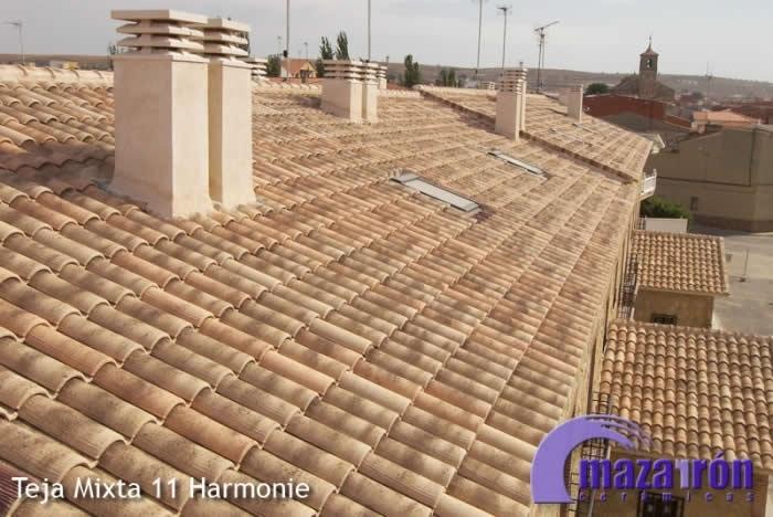 Teja harmonie tejas y ladrillos mazarr n - Ceramicas mazarron ...