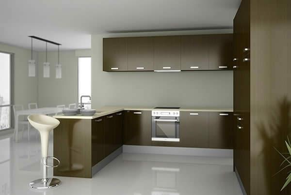 Cocinas modernas construcciones vila for Cocinas modernas valencia