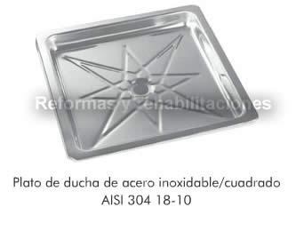 Platos de ducha practic fregaderos de acero inoxidable for Fregaderos de aluminio