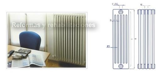 Radiadores de calefacci n practic fregaderos de acero for Fregaderos de aluminio