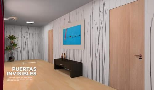 Puertas marcos invisibles puertas de interiores sensem for Marcos puertas interiores