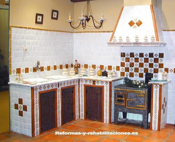Ba os rusticos azulejos for Azulejos banos rusticos fotos