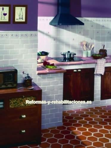 Xavier claur azulejos r sticos cer mica y azulejos for Azulejos rusticos