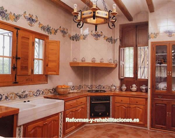 Azulejos valencianos cer mica y azulejos xavier claur - Fotos de azulejos de cocina ...