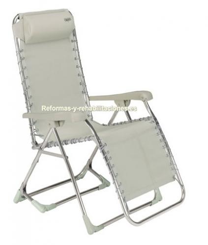 Tumbonas productos aluminio crespo - Silla tumbona ...