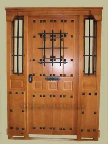 Puertas de calle r sticas cano puertas for Puertas de calle rusticas