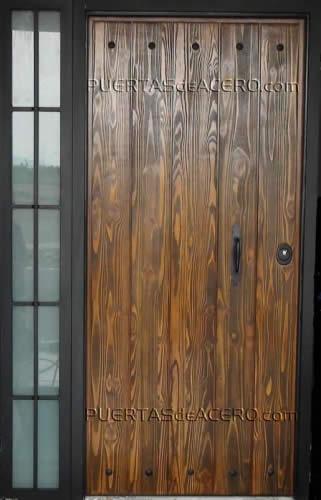 Puertas r sticas de madera puertas acorazadas de seguridad - Puertas de paso rusticas ...