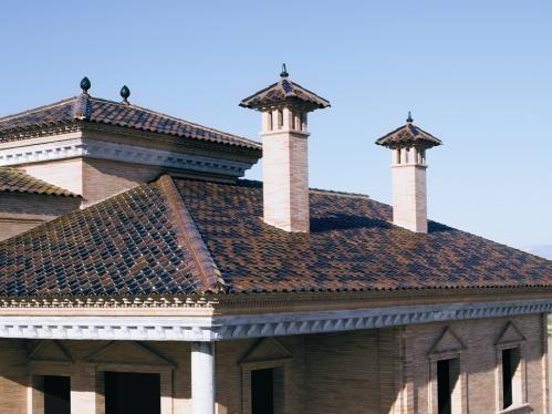 Tejados con cer mico tejas tejas borja s a - Clases de tejas para tejados ...