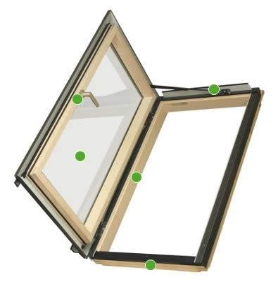 Venta de claraboyas fakro ventanas para tejados - Claraboyas para tejados ...