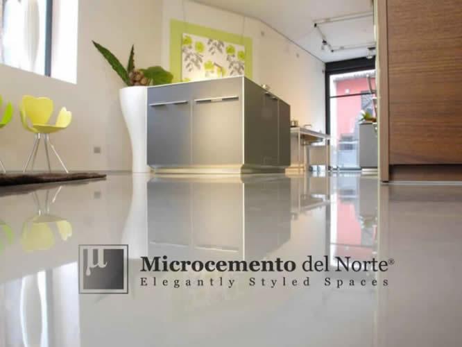 Microcemento para el suelo microcemento del norte for Suelo microcemento