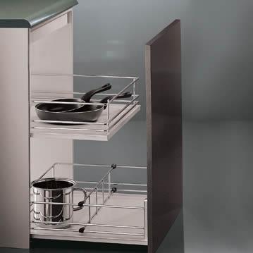 19 genial accesorios para armarios de cocina fotos - Cajones cocina ikea ...
